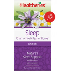 Healtheries Sleep Chamomile & Passionflower 20 tea bags