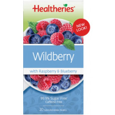 Healtheries Wildberry with Blackberry, Raspberry & Blueberry 20 tea bags