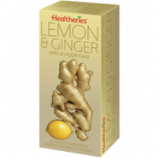 Healtheries Lemon & Ginger Tea 20 tea bags