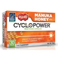 Manuka Health MGO™ 400+ Manuka Honey with CycloPower™ 30 Capsules