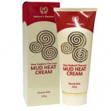 Nature's Beauty Thermal Mud Heat Cream 200g