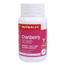Nutra Life Cranberry 50,000 50 Capsules