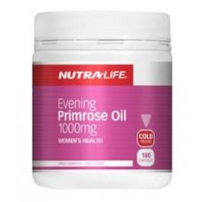 Nutra Life Evening Primrose Oil 1000mg 180 Capsules