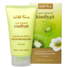 Wild Ferns Kiwifruit Essential Care SPF15+ Facial Moisturiser 75ml