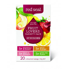 Red Seal Fruit Lovers Variety Pack 20 Teabags 50g
