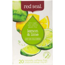Red Seal Lemon & Lime Fruits Tea 20 Teabags 50g