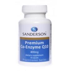 Sanderson Premium Co-Enzyme Q10 400mg 30 Capsules
