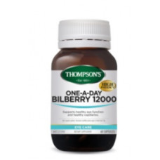 Thompson's Bilberry 12000 60 Capsules