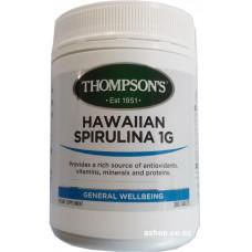 Thompson's Hawaiian Spirulina 1000mg 300 Tablets