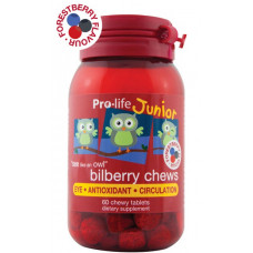 Pro-life Junior Bilberry Chews 240 Chewable Tablets