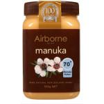 Airborne Manuka Honey 70 Plus 500g