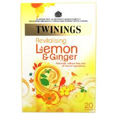 Twinings Revitalising Lemon & Ginger 20 Teabags