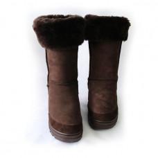 Jenny's Patch Sheepskin Boots
