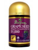 Evergreen Grape Seed 51,000 60 Capsules