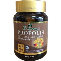 Evergreen Propolis with Zinc and Onion 2000mg Daily PTF30+ 360 Capsules