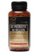 GO Healthy Probiotic 40 Billion 90 Vege Capsules
