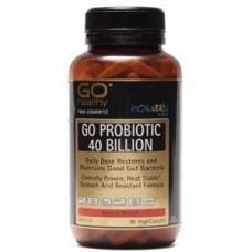 GO Healthy Probiotic 40 Billion 90 Vege Capsules