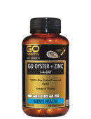 Go Healthy Go Oyster + Zinc 1-A-Day 120 VegeCapsules
