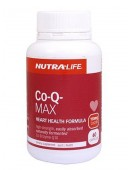 Nutra Life Co-Q Max 150mg 60 Capsules