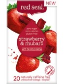 Red Seal Strawberry & Rhubarb Fruit Tea 20 Teabags 50g