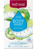 Red Seal Body Right Kiwi & Lime with Garcinia Cambogia 20 Teabags
