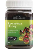 Streamland Rewarewa Honey 500g