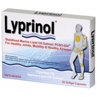 Lyprinol Green Lipped Mussel 50 Capsules